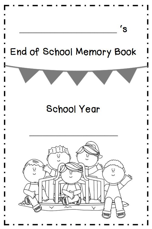 25+ Best Ideas about School Memory Books on Pinterest