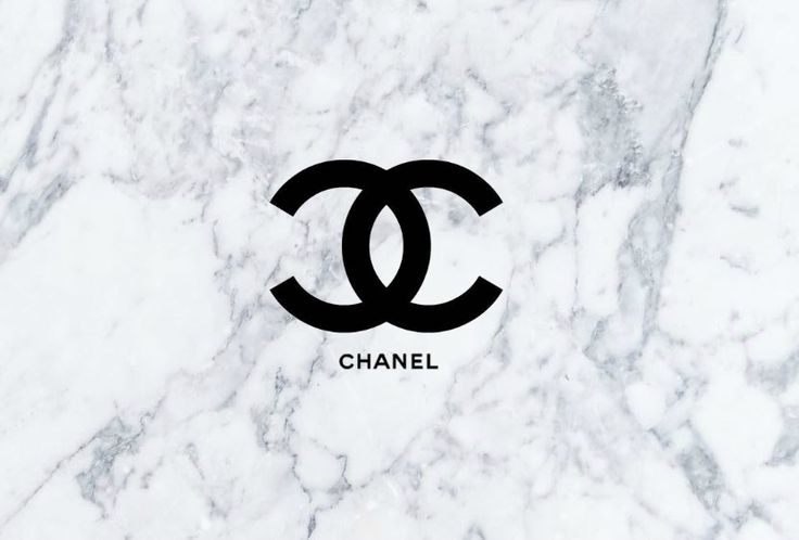 Coco Chanel Quotes Iphone Wallpaper Chanel Logo With A Marble Background This Is Perfect For