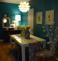 1000+ ideas about Teal Dining Rooms on Pinterest   Teal ...