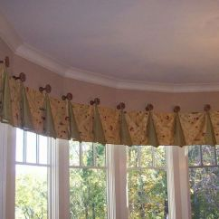 Bay Window Kitchen Curtains L Shaped Bench Table 14 Best Images About & Bow Treatments On Pinterest