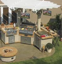 25+ best ideas about Bbq island kits on Pinterest