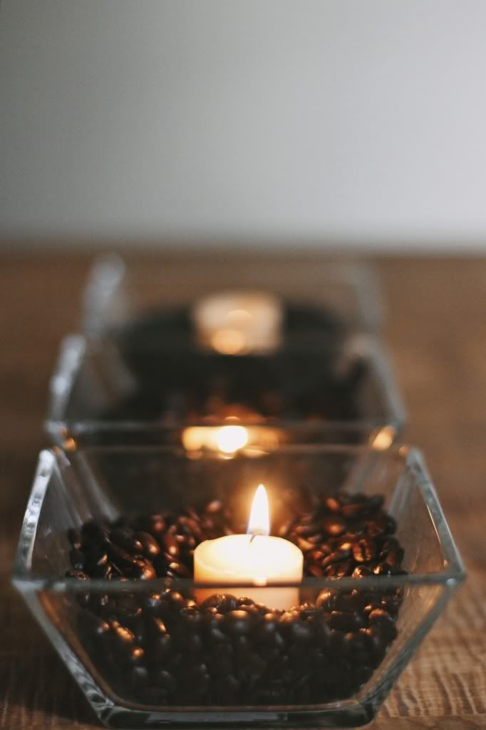vanilla  coffee beans candlesdefinitely doing this