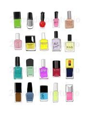 nail polish combo illustration