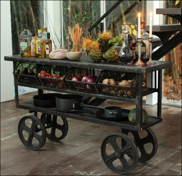 17 Best Ideas About Industrial Kitchen Island On Pinterest