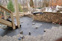 Brock Paver Base - replaces the time consuming gravel base ...