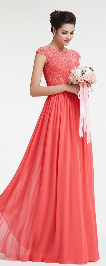 Best 25+ Coral bridesmaid dresses ideas on Pinterest