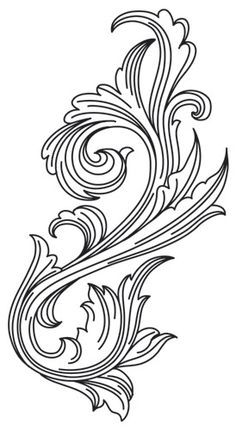 1000+ images about Scrollwork and stencils on Pinterest