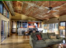 Rustic barn tin ceiling | House ideas | Pinterest | Rustic ...