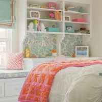 Nest Studio - girl's rooms - tan walls, tan wall color ...