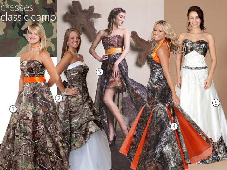 17 Best ideas about Camo Wedding Dresses on Pinterest