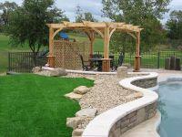 pergola around pool   Ideas for meditation garden ...