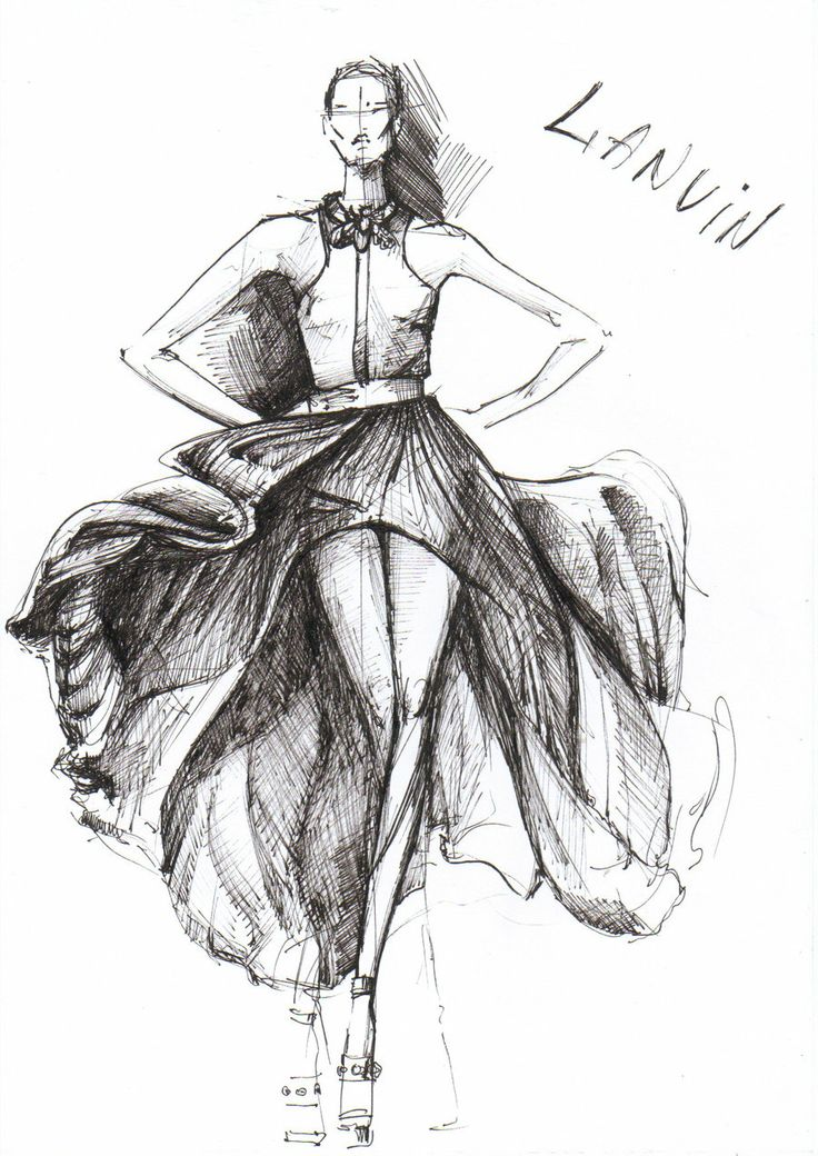 100 best images about fashion sketches on Pinterest
