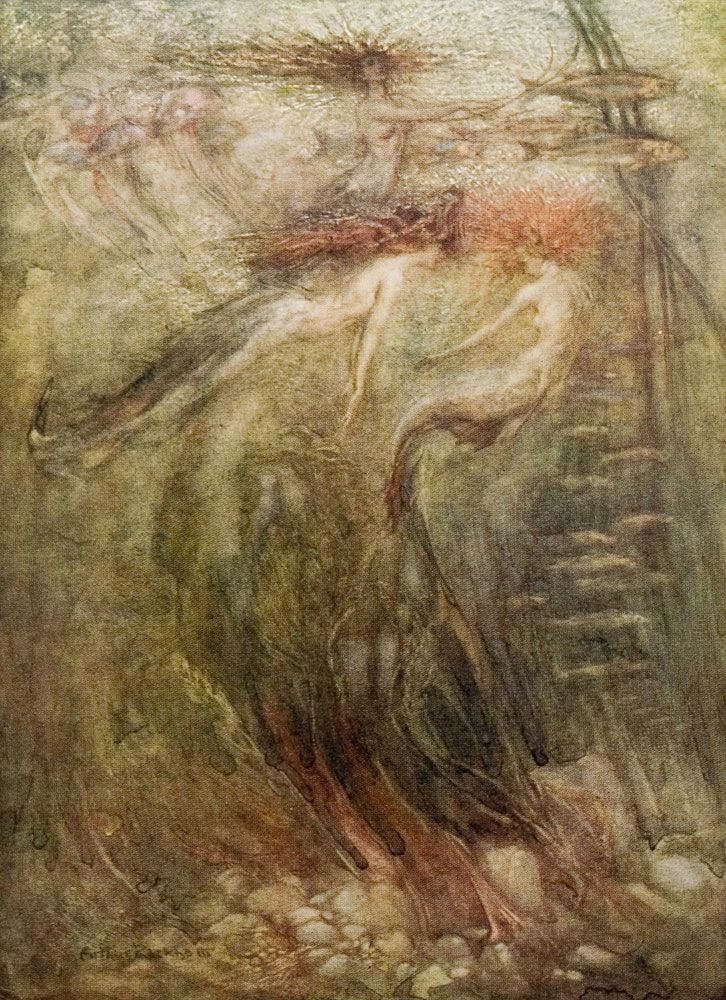 1000 Images About Artist Sir Arthur Rackham On Pinterest