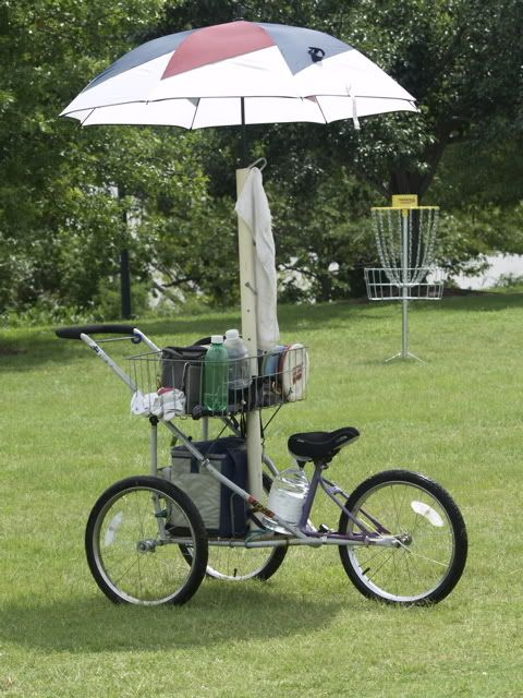 disc golf cart designs