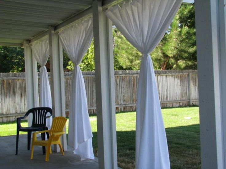 Fabric Used For Outdoor Decor And Shade Maybe Have Weights