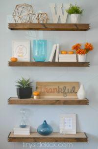 25+ best ideas about Floating shelf decor on Pinterest ...