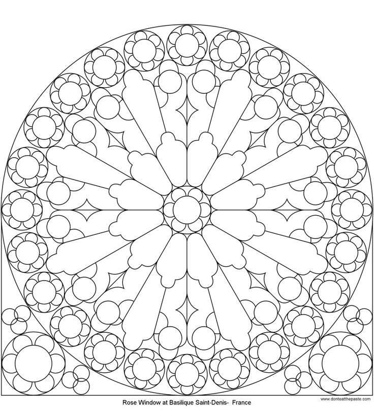 41 best images about Tracery Patterns & Rose Windows on