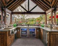 25+ best ideas about Outdoor kitchen bars on Pinterest