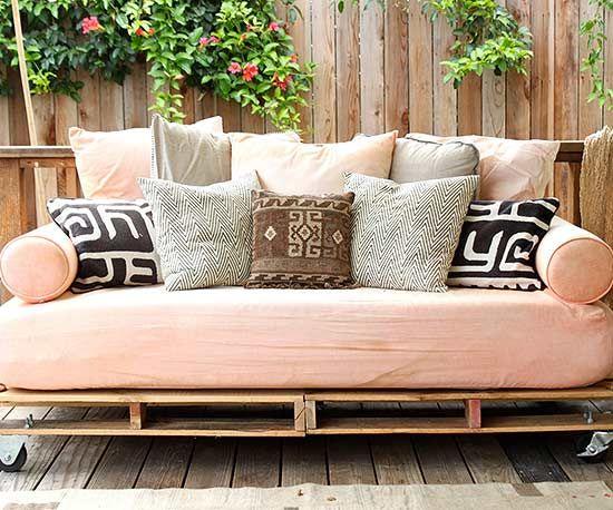 25 Best Ideas About Homemade Outdoor Furniture On Pinterest