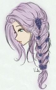 girl hair drawing ideas