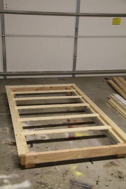 How To Build A Twin Bed Frame With Trundle WoodWorking