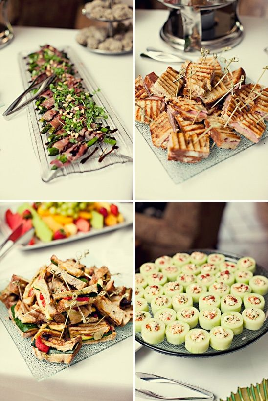pinterest baby party ideas  Summer Garden Party Finger Food Party Bridal Baby Shower
