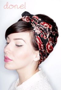 1000+ ideas about Short Hair Scarves on Pinterest ...