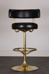 Pair of vintage swivel brass bar stools | Vintage Bar ...