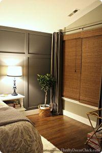 board/batten wall Dark gray accent wall | bedrooms ...