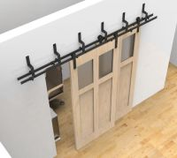 adorable double barn closet doors | Roselawnlutheran
