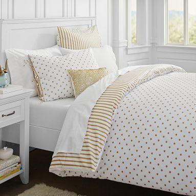 Bedding, White bedding and Gold on Pinterest