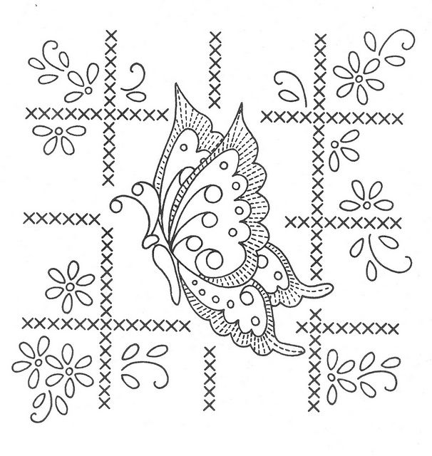 Top 136 ideas about Butterfly embroidery patterns on