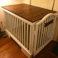Best 25+ Diy dog crate ideas on Pinterest