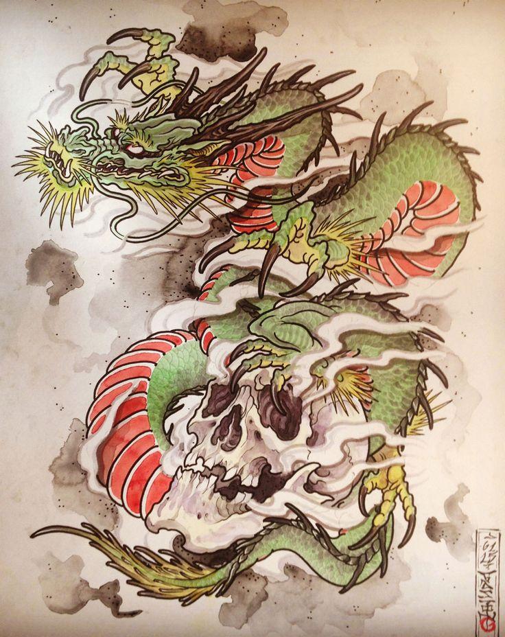 17 Best ideas about Japanese Dragon on Pinterest