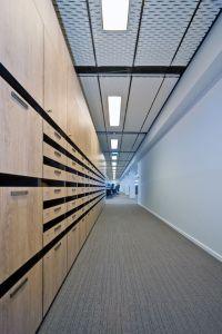 Stretch Metal Ceiling. Product: Hunter Douglas ...