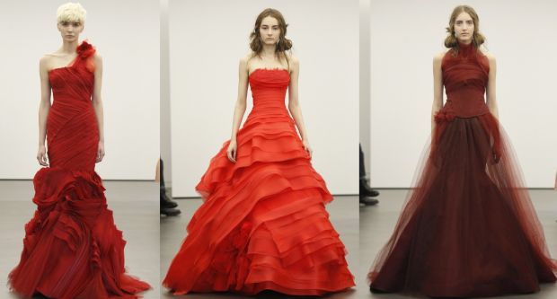 25+ Best Ideas About Red Wedding Gowns On Pinterest