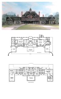 Greek Revival House Plans 98256