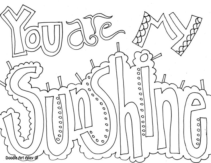 printable coloring pages. Lots of fun quotes to choose