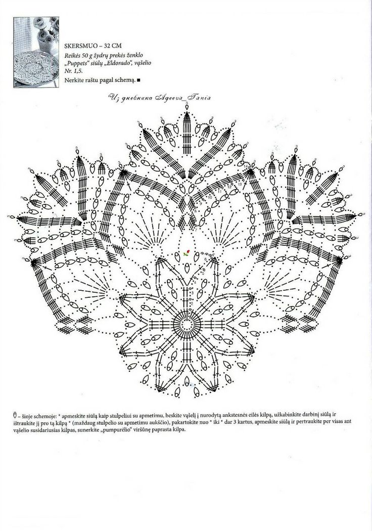 902 best images about Crochet doily patterns on Pinterest