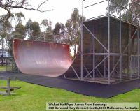 Wicked Halfpipe in Melbourne Halfpipe in Australia ...