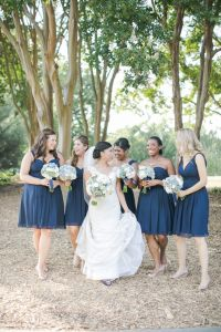 25+ best ideas about Mismatched navy bridesmaids on ...