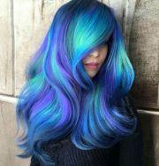 ideas blue hair colors