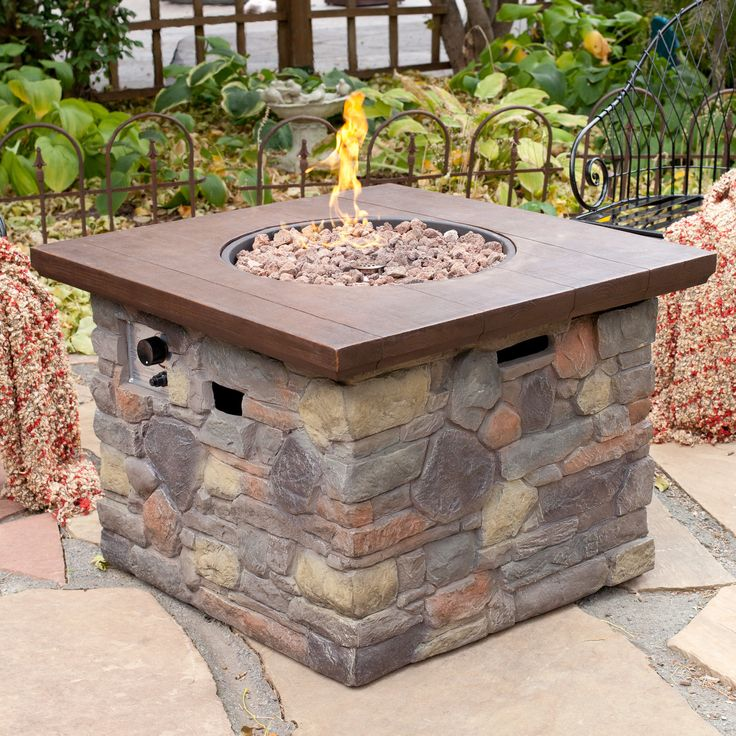 Red Ember Galiano Propane Fire Pit Table Lanai Pinterest Propane Fire Pit Table And Fire