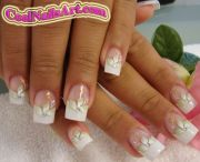wedding french manicure nail design