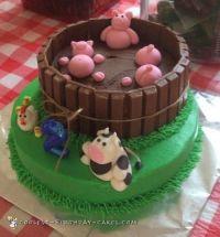 25+ best ideas about Farm animal cakes on Pinterest