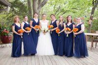 1000+ images about Navy & Orange Wedding on Pinterest
