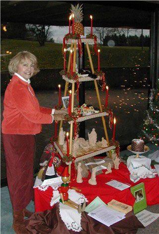 Italian Ceppo Christmas Tree Alternative Love The