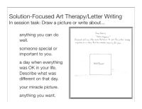 All Worksheets  Solution Focused Brief Therapy Worksheets ...