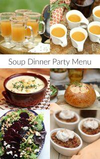 Best 20+ Dinner Party Menu ideas on Pinterest