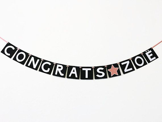 25+ best ideas about Congratulations banner on Pinterest